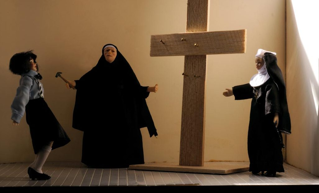 I am given a choice. Catholic school or Miss Hall's School for Girls. I choose nuns. At least there will be boys there.